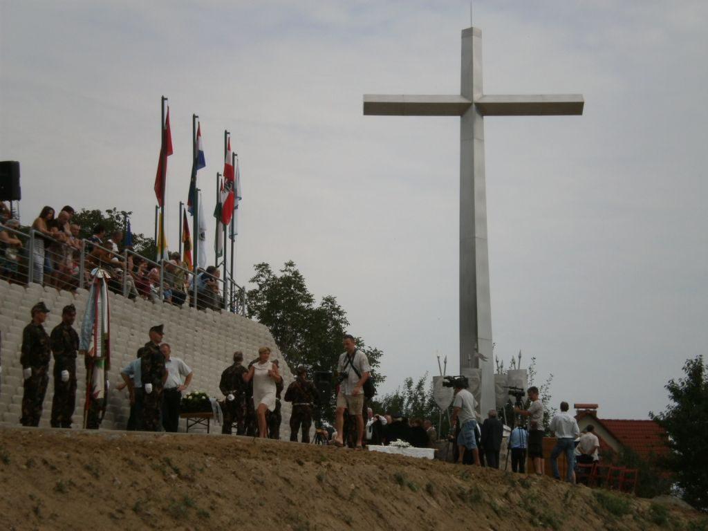 Történelmi emlékpark, Harsány-hegyi csata emlékmű